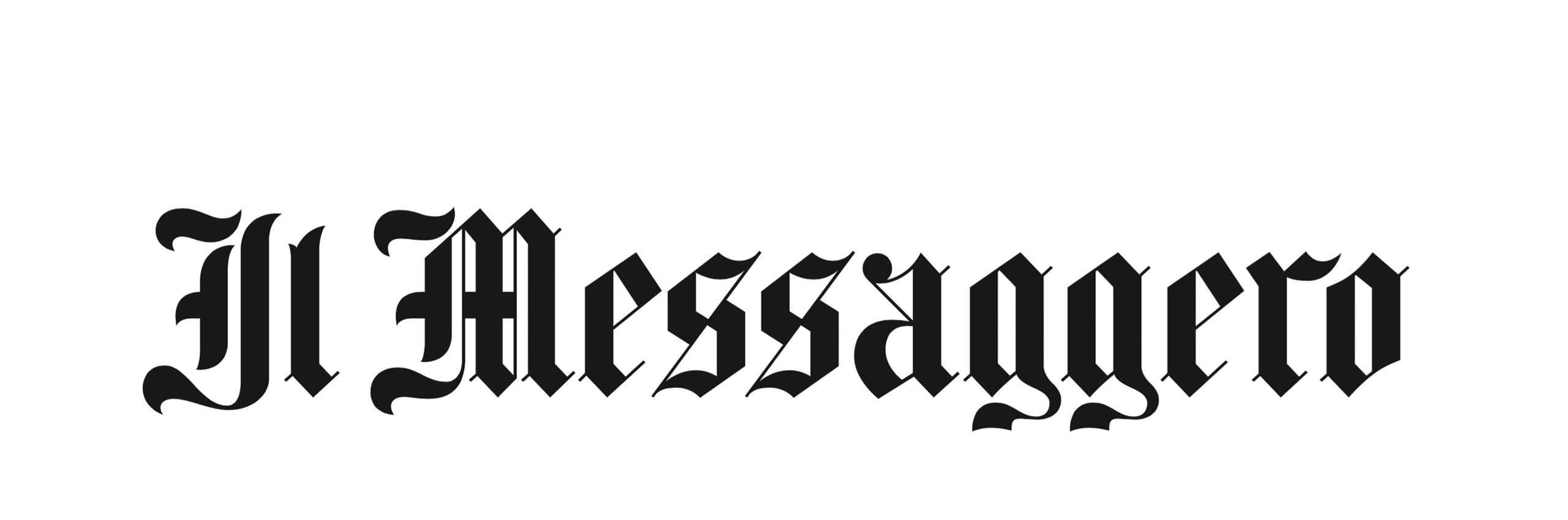 Emtype Foundry Lettering Il Messaggero